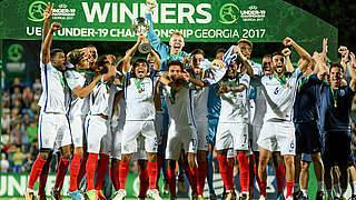 England erstmals U 19-Europameister