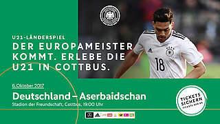 U 21: Vorverkauf fürs Aserbaidschan-Spiel