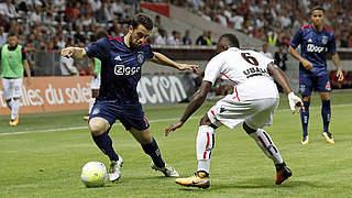 Younes und Ajax mit guter Ausgangsposition