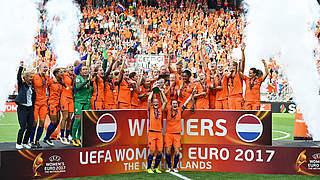 Oranje-Frauen erstmals Europameister