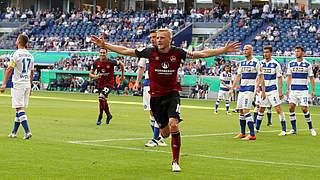 Nürnberg schlägt Ligakonkurrent MSV