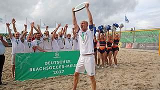 Rostocker Robben holen Beachsoccer-Titel