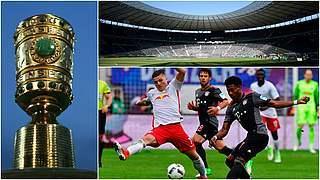 DFB-Pokal: Bayern müssen nach Leipzig