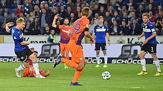 Dritter Sieg: Bielefeld erobert die Spitze