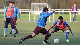 Koordination und Athletik mit technischen Elementen