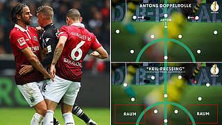 Pokalduell gegen Wölfe: Hannover 96 im großen Taktikcheck