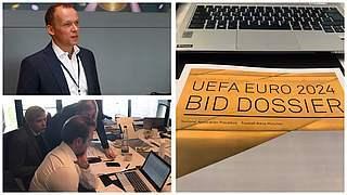 Bewerbung um die EURO 2024: Alle sind hoch motiviert