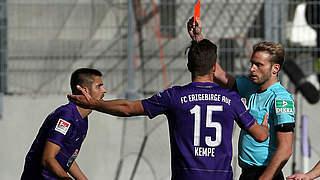 Drei Spiele Sperre und 3000 Euro Geldstrafe für Aues Nazarov