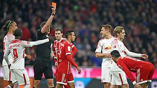 Ein Spiel Sperre für Leipzigs Orban