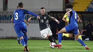 Hartel ist Spieler des Aserbaidschan-Spiels
