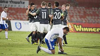 EM-Qualifikation: U 21 übernimmt mit 5:2 in Israel Tabellenführung