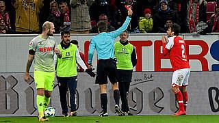 Ein Spiel Sperre für den Mainzer Donati