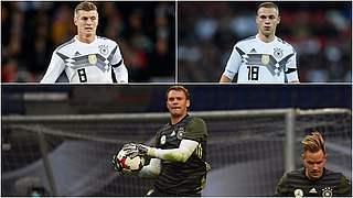 Kroos, Kimmich und Neuer für UEFA-Team des Jahres nominiert