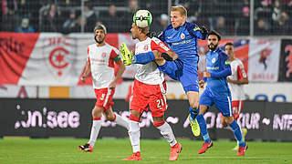 2:0 in Halle: Rostock setzt Lauf fort