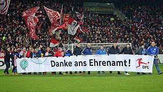 Fußball in Deutschland sagt wieder Danke ans Ehrenamt