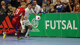Futsaler verkaufen sich im zweiten Duell mit Tschechien teuer