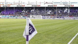 Spiel zwischen Osnabrück und KSC abgesagt
