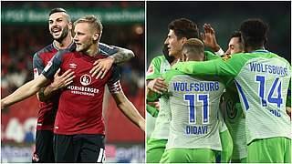 Nürnberg vs. Wolfsburg und mehrere Serien