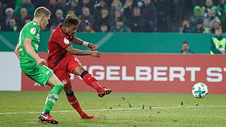 Bremen und Leverkusen im Viertelfinale