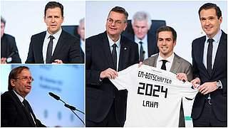 Grindel, Curtius, Koch, Bierhoff und Lahm bei Sportmesse SPOBIS
