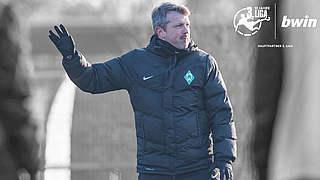 Werder-Coach Hübscher: In der 3. Liga kann ich mehr fordern