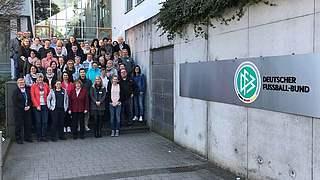 Frauen- und Mädchenfußball: Jahrestagung in Frankfurt