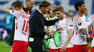Leipzig im Viertelfinale der Europa League gegen Marseille
