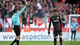 Drei Spiele Sperre und Geldstrafe für Leverkusens Alario