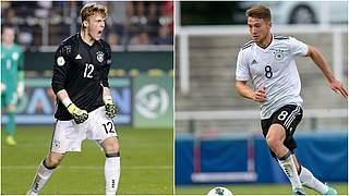 Neu bei der U 21: Florian Müller und Salih Özcan
