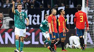 Video: Hochklassiges 1:1 gegen Spanien