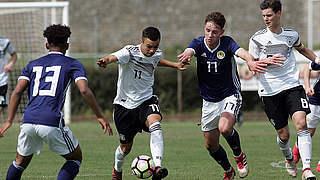 U 17 trotz Niederlage für EM qualifiziert
