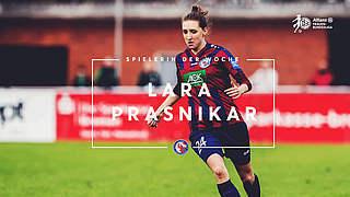 Prasnikar ist Spielerin des 15. Spieltags