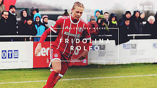 Rolfö ist Spielerin des 16. Spieltags