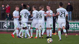 1:0gegen Aalen: Bremen II vertagt Abstieg