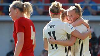 Nach Viererpack: Schüller ist Spielerin des Tschechien-Spiels