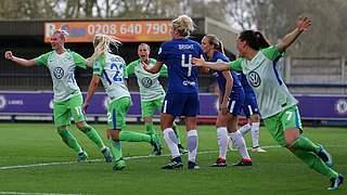3:1 bei Chelsea: Wolfsburg auf Finalkurs