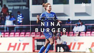 Burger ist Spielerin des 17. Spieltags