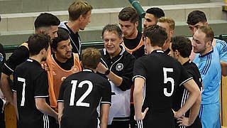 Futsal-Finale: Loosveld freut sich auf viele Nationalspieler