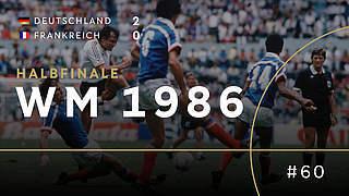 1986: Wieder über Frankreich ins Finale
