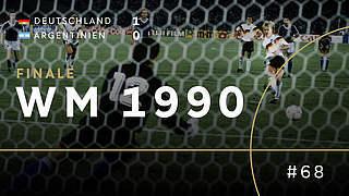 WM 1990: Elfmeter. Brehme. Weltmeister.