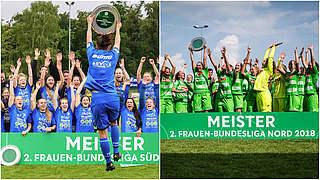 Staffeltitel für Hoffenheim II und Gladbach