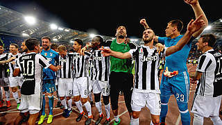 Khedira mit Juventus italienischer Meister