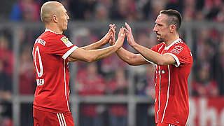 Ribéry und Robben: Die alten Meister