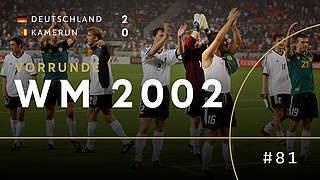 WM 2002: In Unterzahl ins Achtelfinale