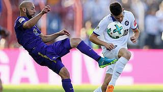 Relegationshinspiel: Karlsruhe mit Remis gegen Aue