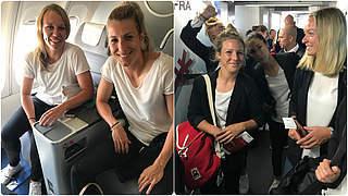DFB-Frauen auf dem Weg nach Kanada