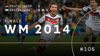 Vor vier Jahren: Vierter Stern für Deutschland