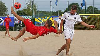 Deutsche Beachsoccer-Liga live auf DFB-TV
