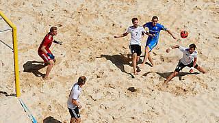 Strandfußballer unterliegen Ukraine 3:4