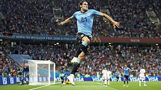 Dank Cavani: Uruguay im Viertelfinale